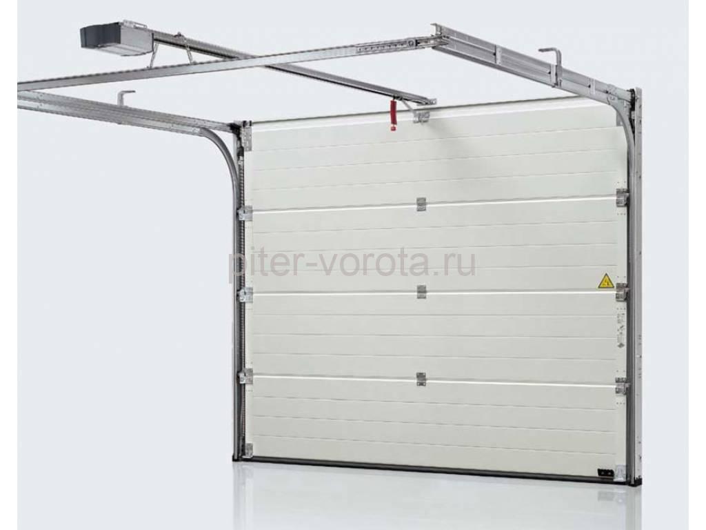 Автоматические подъемно-секционные гаражные ворота