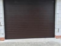 Ворота гаражные подъёмно-секционные DoorHan серии RSD01 в Грузино