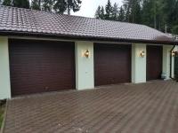 Ворота гаражные подъёмно-секционные DoorHan серии RSD01 в Больших Дворах
