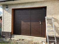 Ворота гаражные подъёмно-секционные Doorhan серии RSD02 в Большом Верево