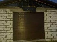 Ворота гаражные подъёмно-секционные Doorhan серии RSD02 в п. Паша