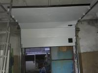 Ворота промышленные подъёмно-секционные Doorhan серии ISD01 на Левашовском шоссе