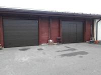 Гаражные подъёмно-секционные ворота Alutech Classic в Медовом
