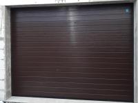 Гаражные подъёмно-секционные ворота Alutech Classic в Смольном