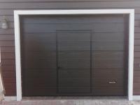 Гаражные подъёмно-секционные ворота Alutech Prestige в Удальцово