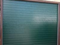 Гаражные подъёмно-секционные ворота Alutech Trend в Александровском