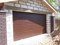 Гаражные подъёмно-секционные ворота DoorHan RSD02 в Никольском