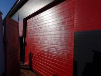 Гаражные подъёмно-секционные ворота DoorHan RSD02 в д. Санино