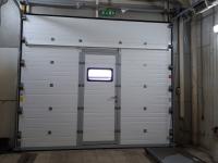 Гаражные подъёмно-секционные ворота DoorHan RSD02 в п.Шушары