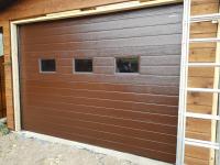 Гаражные подъёмно-секционные ворота Doorhan RSD01 в Крутом ручье.