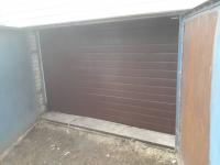 Гаражные подъёмно-секционные ворота Doorhan RSD01 в ЛМЗ Пески