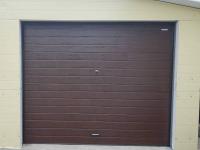 Гаражные подъёмно-секционные ворота Doorhan RSD01 в Петергофе