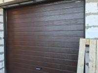 Гаражные подъёмно-секционные ворота Doorhan RSD01 в Приозёрном