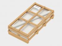 Дополнительная упаковка — деревянная обрешетка