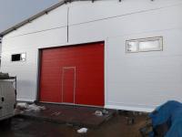 Промышленные подъёмно-секционные ворота в Колпино