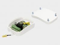 GSM-модуль предназначен для приема сигнала с мобильного телефона и передачи управляющей команды для запуска электропривода или шлагбаума.