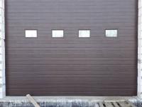 Гаражные подъёмно-секционные ворота Doorhan ISD01 в Хиттолово