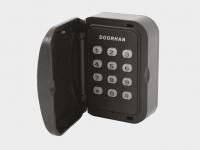 Кодовая клавиатура KEYPAD предназначена для дистанционного управления электроприводом ворот, оснащенным встроенным или внешним приемником DoorHan.