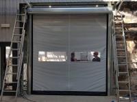 Скоростные ворота DoorHan SpeedRoll SDI на Кировском заводе в СПб