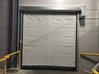 Скоростные ворота DoorHan SpeedRoll SDO на складе №1 в СПб