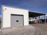 Промышленные подъёмно-секционные ворота на Турухтанных островах