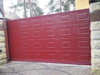 Уличные откатные ворота Doorhan во Всеволожске