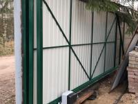 Уличные откатные ворота Doorhan в Ковалёво