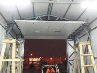Гаражные подъёмно-секционные ворота в Санкт-Петербурге