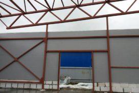 Четыре комплекта промышленных подъёмно-секционные ворот DoorHan ISD01 и гаражных RSD02 в Мурино, фото 16