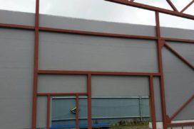 Четыре комплекта промышленных подъёмно-секционные ворот DoorHan ISD01 и гаражных RSD02 в Мурино, фото 19