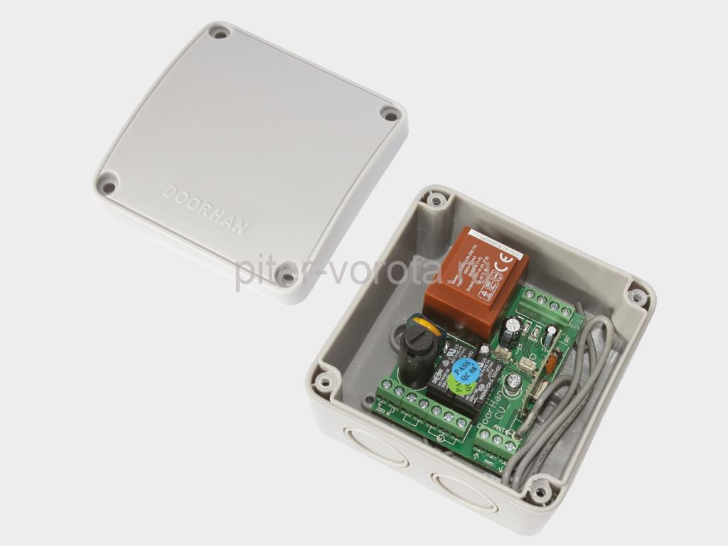 GSM-модуль для приема сигнала с мобильного телефона и передачи управляющей команды для запуска электропривода