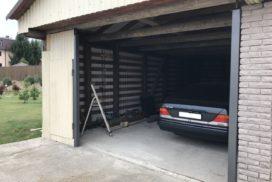 Ворота гаражные подъёмно-секционные Doorhan серии RSD02 в СНТ Звезда фото 1 до