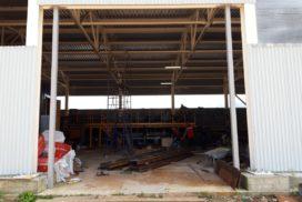 Ворота промышленные подъёмно-секционные Doorhan серии ISD01 в Серебрянском фото до 1