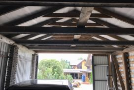Ворота гаражные подъёмно-секционные Doorhan серии RSD02 в СНТ Звезда фото 2 до