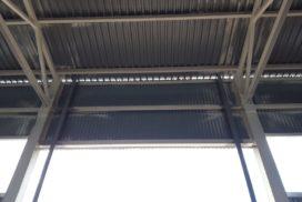 Ворота промышленные подъёмно-секционные Doorhan серии ISD01 в Серебрянском фото до 3