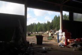 Ворота промышленные подъёмно-секционные Doorhan серии ISD01 в Серебрянском фото до 5