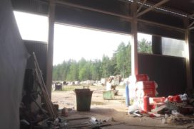Ворота промышленные подъёмно-секционные Doorhan серии ISD01 в Серебрянском фото до 6