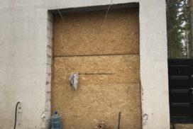 Ворота гаражные подъёмно-секционные Doorhan серии RSD02 в Васкелово фото 4 до