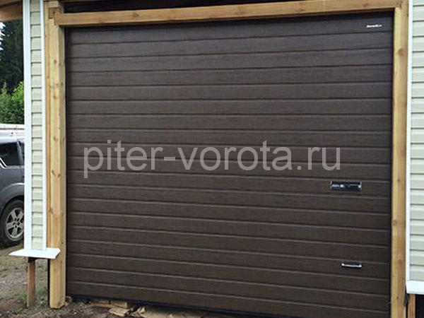 Гаражные подъёмно-секционные ворота в Ириновке