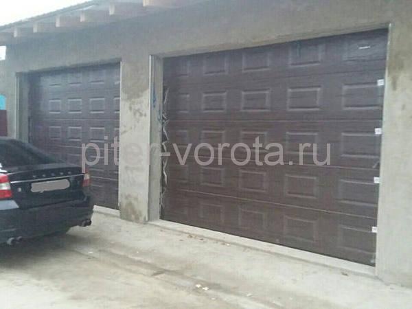 Гаражные подъёмно-секционные ворота в Ломоносовском р-не