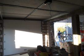 Ворота гаражные подъёмно-секционные Doorhan серии RSD01 в Мяглово фото 2 после