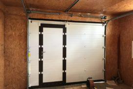 Ворота гаражные подъёмно-секционные Doorhan серии RSD02 в Большом Верево фото 2 после
