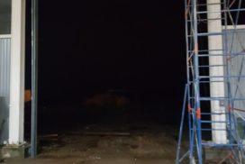 Ворота промышленные подъёмно-секционные Doorhan серии ISD01 в Серебрянском фото после 5