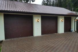 Гаражные секционные ворота DoorHan RSD01 в Больших Дворах фото 1