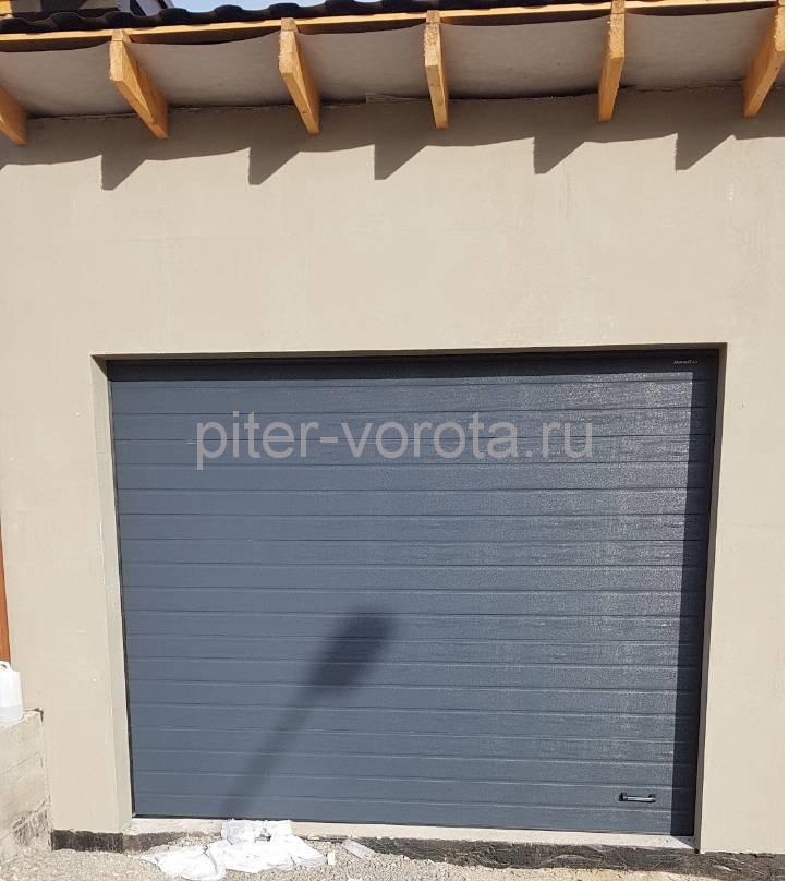 Гаражные подъёмно-секционные ворота Doorhan RSD01 в Киссолово