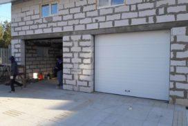 Ворота гаражные подъёмно-секционные Doorhan серии RSD01 в Мяглово фото 1 после