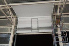 Ворота промышленные подъёмно-секционные Doorhan серии ISD01 в Серебрянском фото после 4