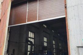 Ворота промышленные подъёмно-секционные Doorhan серии ISD01 в Большом Сампсониевском фото 1 после
