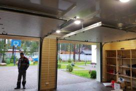 Гаражные секционные ворота DoorHan RSD01 в Больших Дворах фото 3