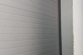 Ворота промышленные подъёмно-секционные Doorhan серии ISD01 в Пикалёво фото 5 после